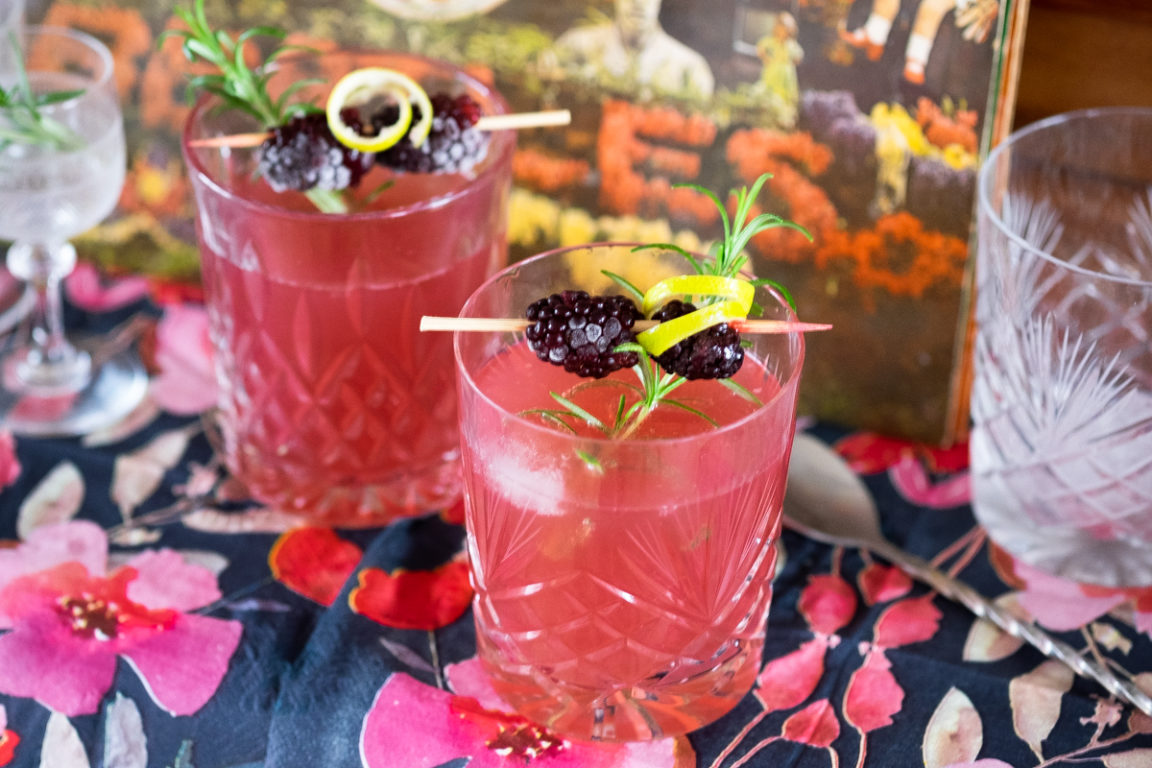 Berry Happy mocktail AIP