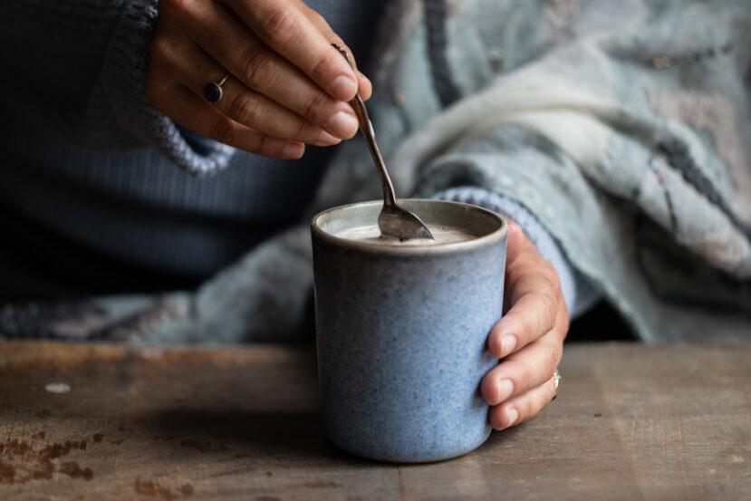 Warme chocolademelk zonder melk