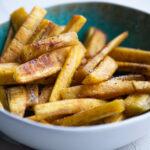 Friet of chips van bakbanaan paleo AIP