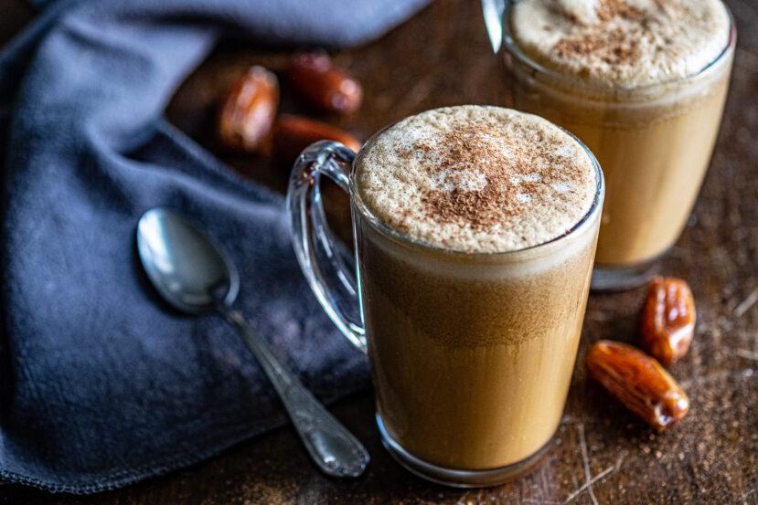 Mocaccino zonder zuivel, AIP koffie