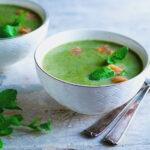 Broccolisoep met spinazie en munt paleo AIP